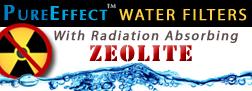pureeffects water filter zeolite