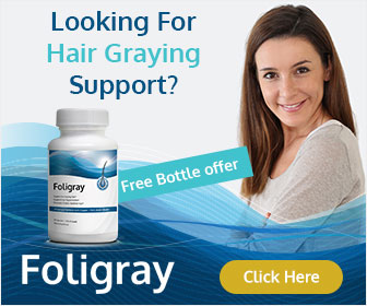 stop premature gray hair