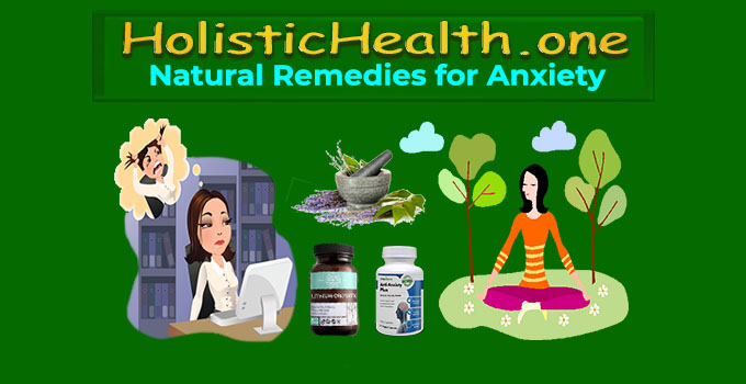 natural remedies for anxiety and depression