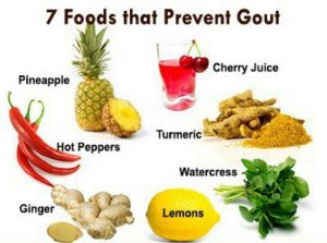 best foods for gout
