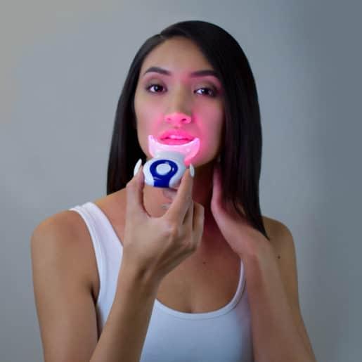 UV teeth whitener
